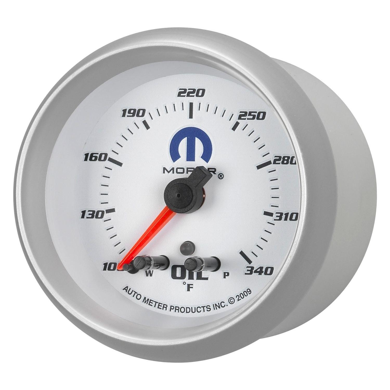 auto meter 880251 mopar oil temperature in dash gauge. Black Bedroom Furniture Sets. Home Design Ideas