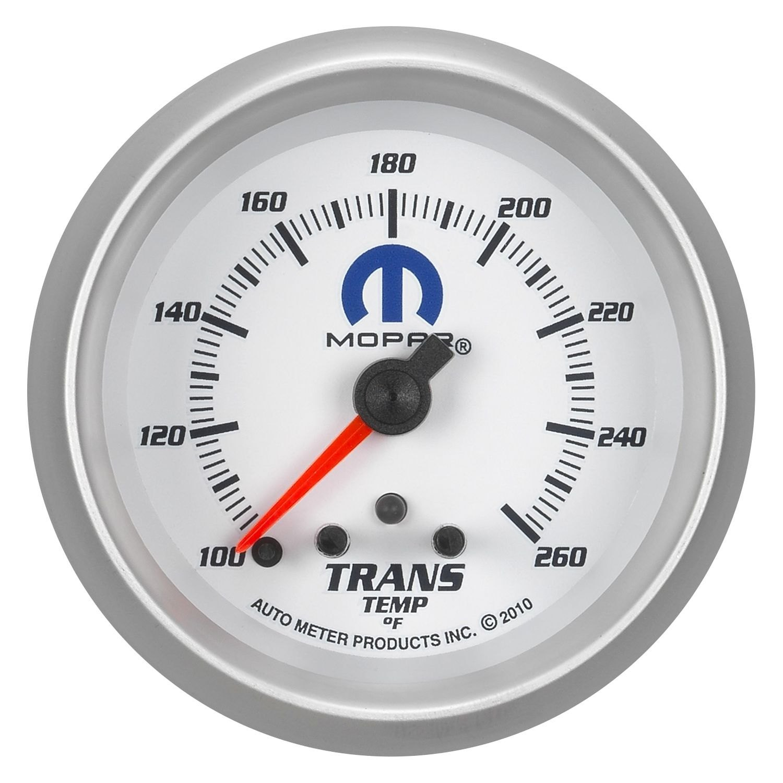 auto meter 880359 mopar transmission temperature in dash gauge. Black Bedroom Furniture Sets. Home Design Ideas