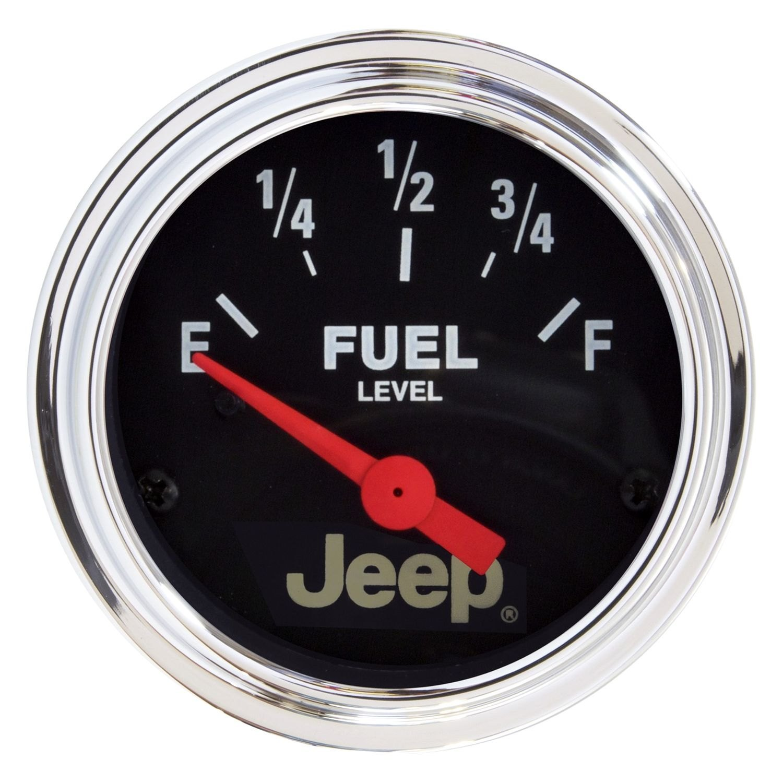 "Jeep Cj7 Gauge: Jeep Series 2-1/16"" Fuel Level Gauge"