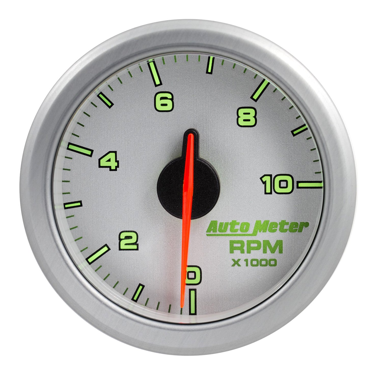 Auto Meter 9197 Ul Air Drive Series 2 1 16 In Dash Tachometer 4 Gauge