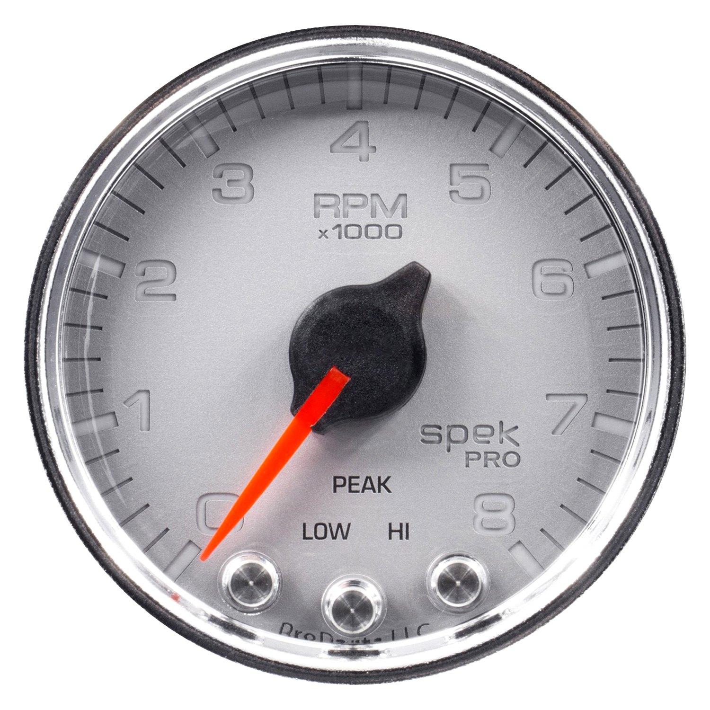 """Auto Meter® P33421 - Spek-Pro Series 2-1/16"""" In-Dash ..."""