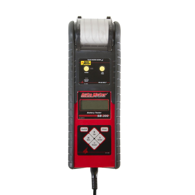 Hand Held Battery Tester Automotive : Auto meter sb pr intelligent handheld battery tester