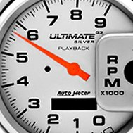 Auto Meter® - Ultimate Play Back Pedestal Mount Tachometer