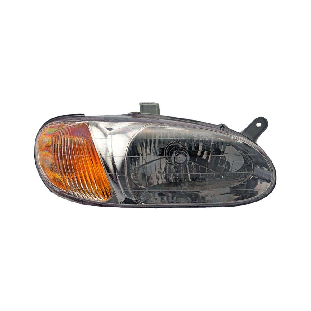 Car Headlights Replacement : Auto kia sephia l  replacement headlight