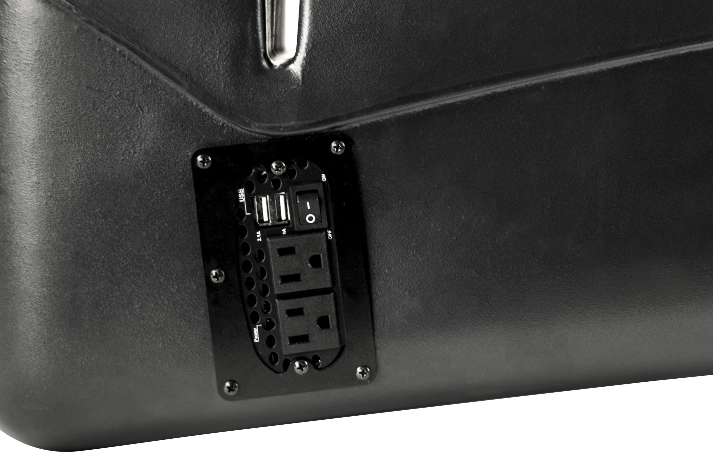 Autoexec 174 10031 Reach Birch Front Seat Desk With Built