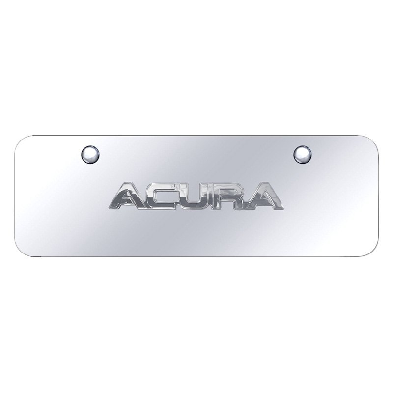 Autogold License Plate With D Acura Logo - Acura license plate