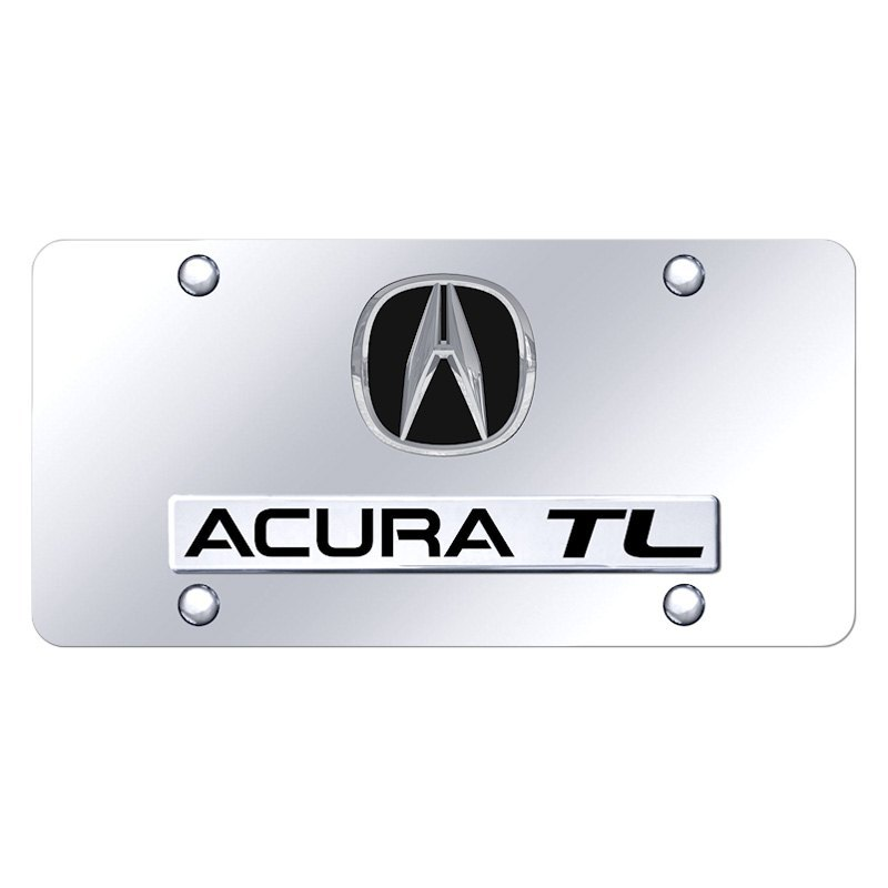 Acura Dealership Atlanta Area: Chrome License Plate With Chrome