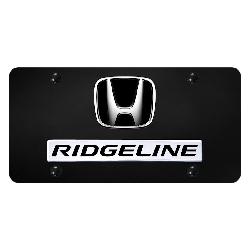 This Licensing Tag Was Added To This File As Part Of The: Black License Plate With 3D Chrome