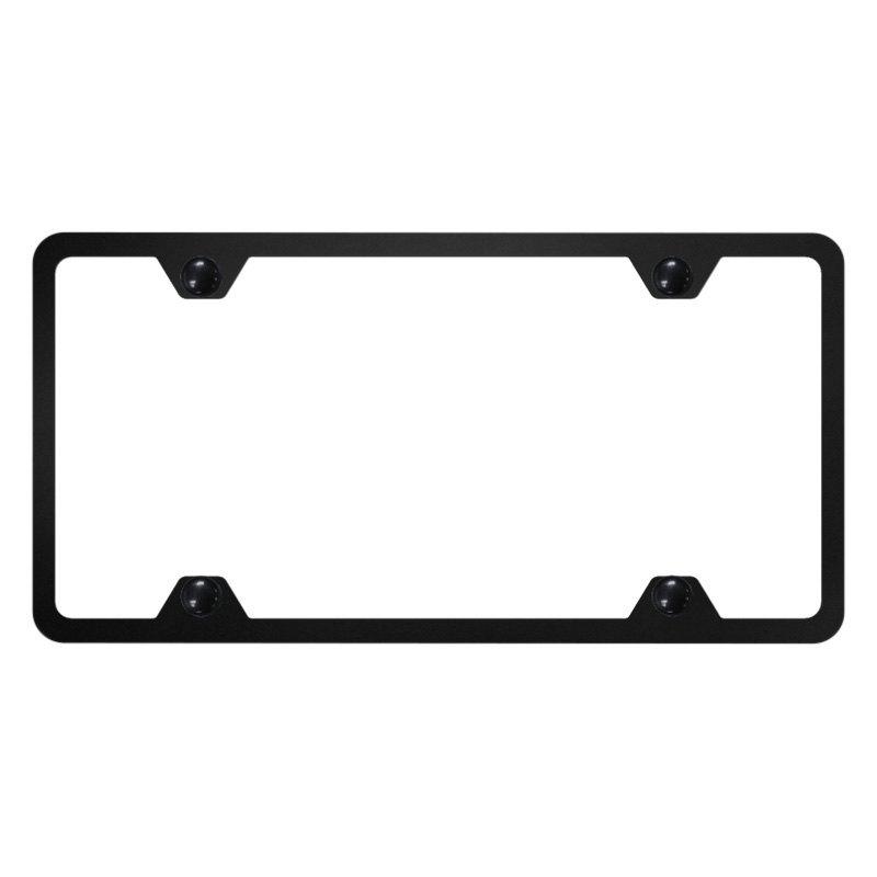 Autogold® - Slimline Plain 4-Hole License Plate Frame