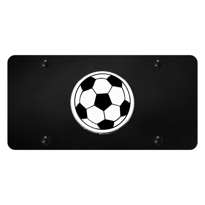 autogold174 license plate with soccer ball logo