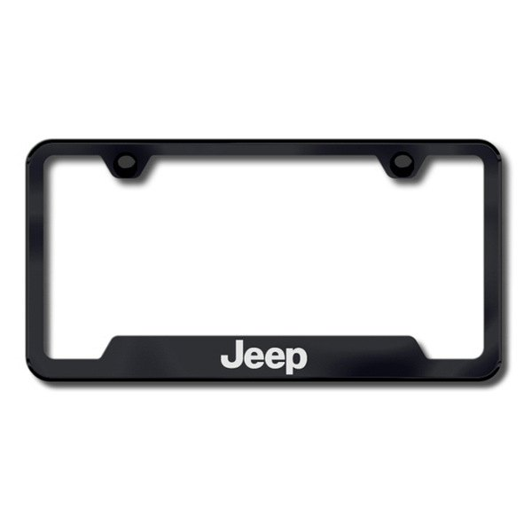 autogold gf jee eb jeep logo on black frame with cut outs. Cars Review. Best American Auto & Cars Review