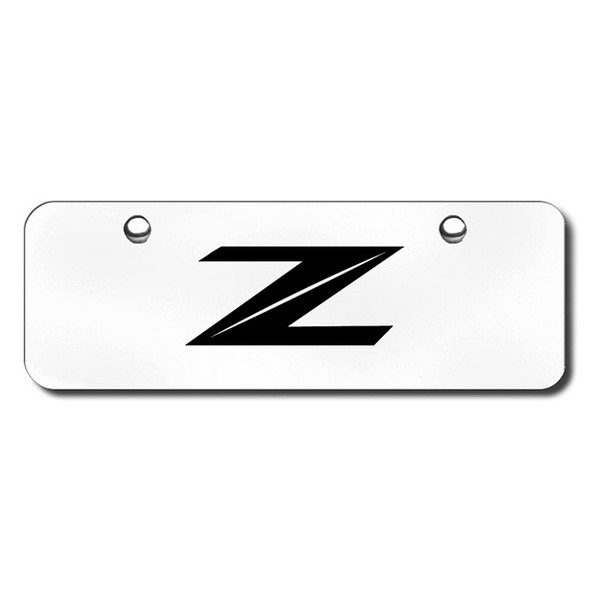3D Laser Etched Z Logo on  Z Logo 3d
