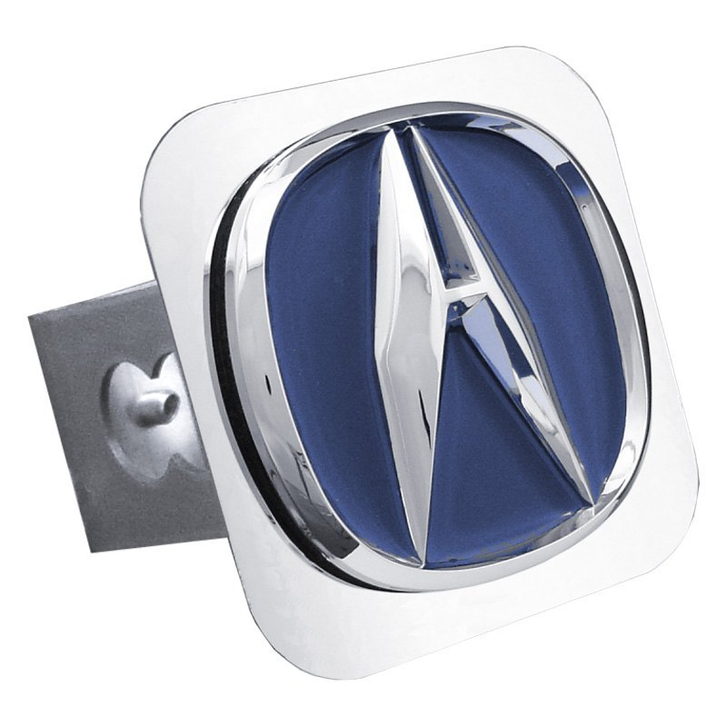 Acura Red Emblem: Hitch Cover With Acura Logo
