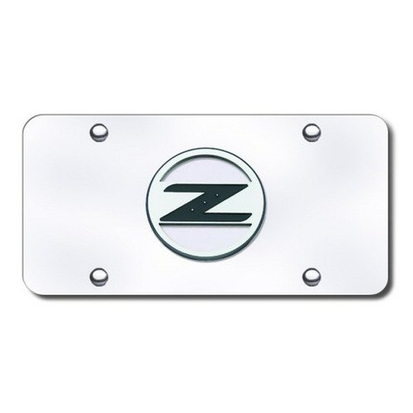 Autogold  - Z Logo on Chrome  Z Logo 3d
