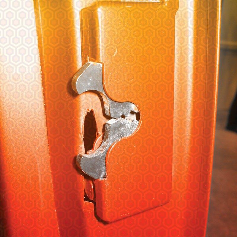 Autoloc 174 Autbclg Large Locking Bear Claw Door Latch Set