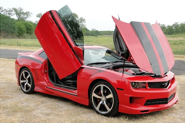 autoloc power accessories lambo doors hood kits. Black Bedroom Furniture Sets. Home Design Ideas