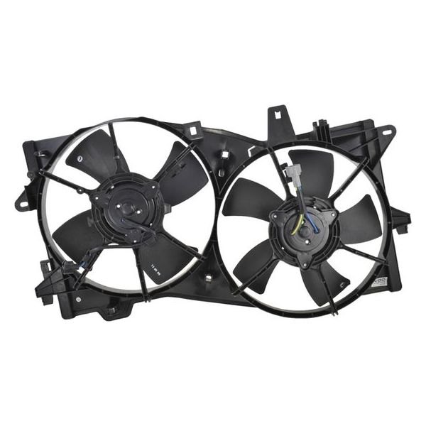 Dual Radiator and Condenser Fan Assembly TYC 621090 fits 02-06 Mazda MPV