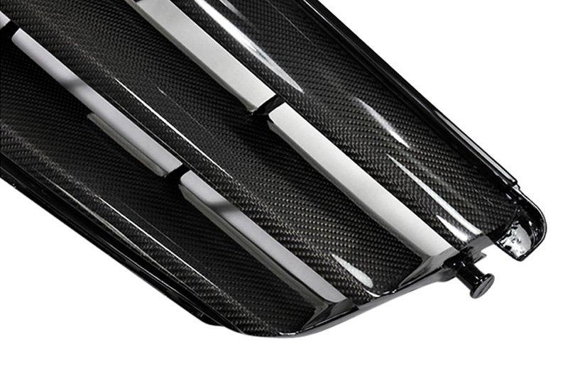 Autotecknic Mb 0168 Cf 1 Pc Carbon Fiber Look Billet Main Grille