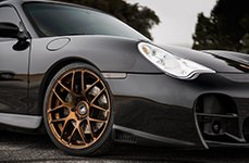 AVANT GARDE® - RUGER MESH Bronze on Porsche 996 Turbo