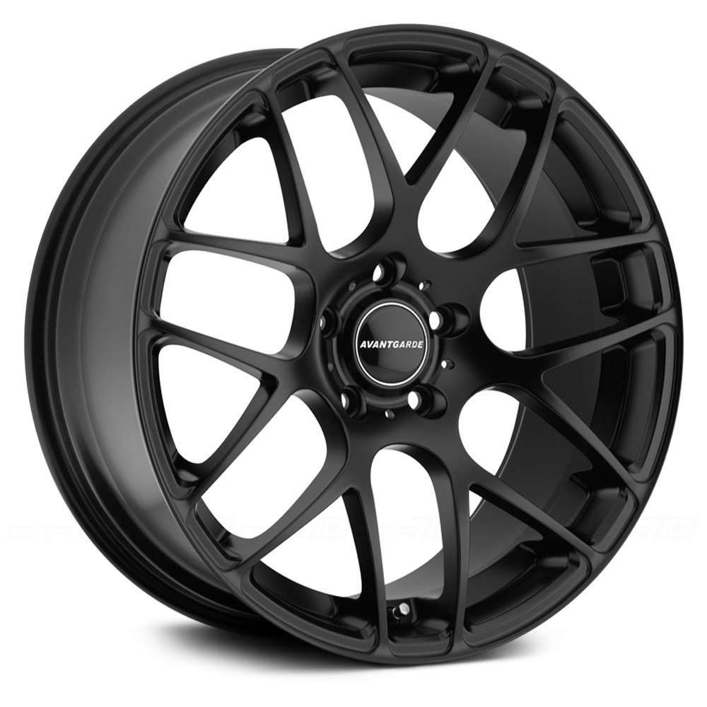 Avant Garde 174 M310 Wheels Matte Black Rims