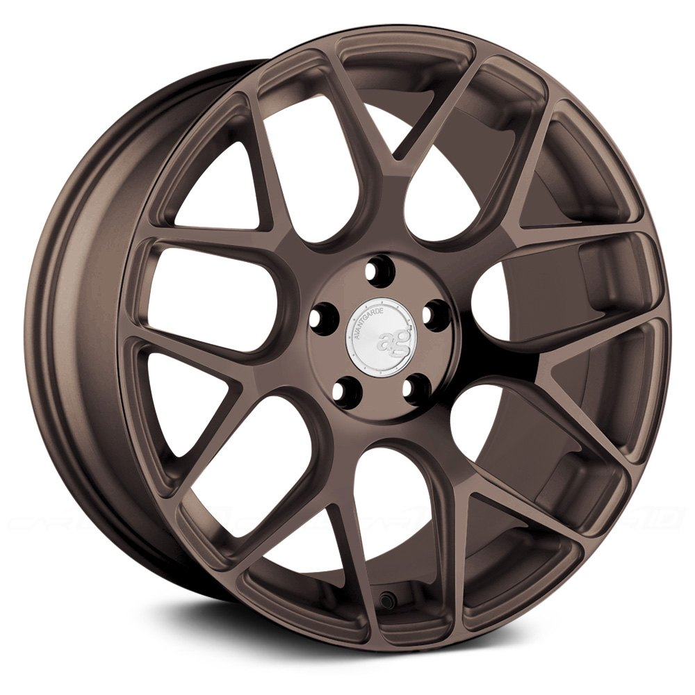 avant garde m590 bespoke wheels   custom painted rims