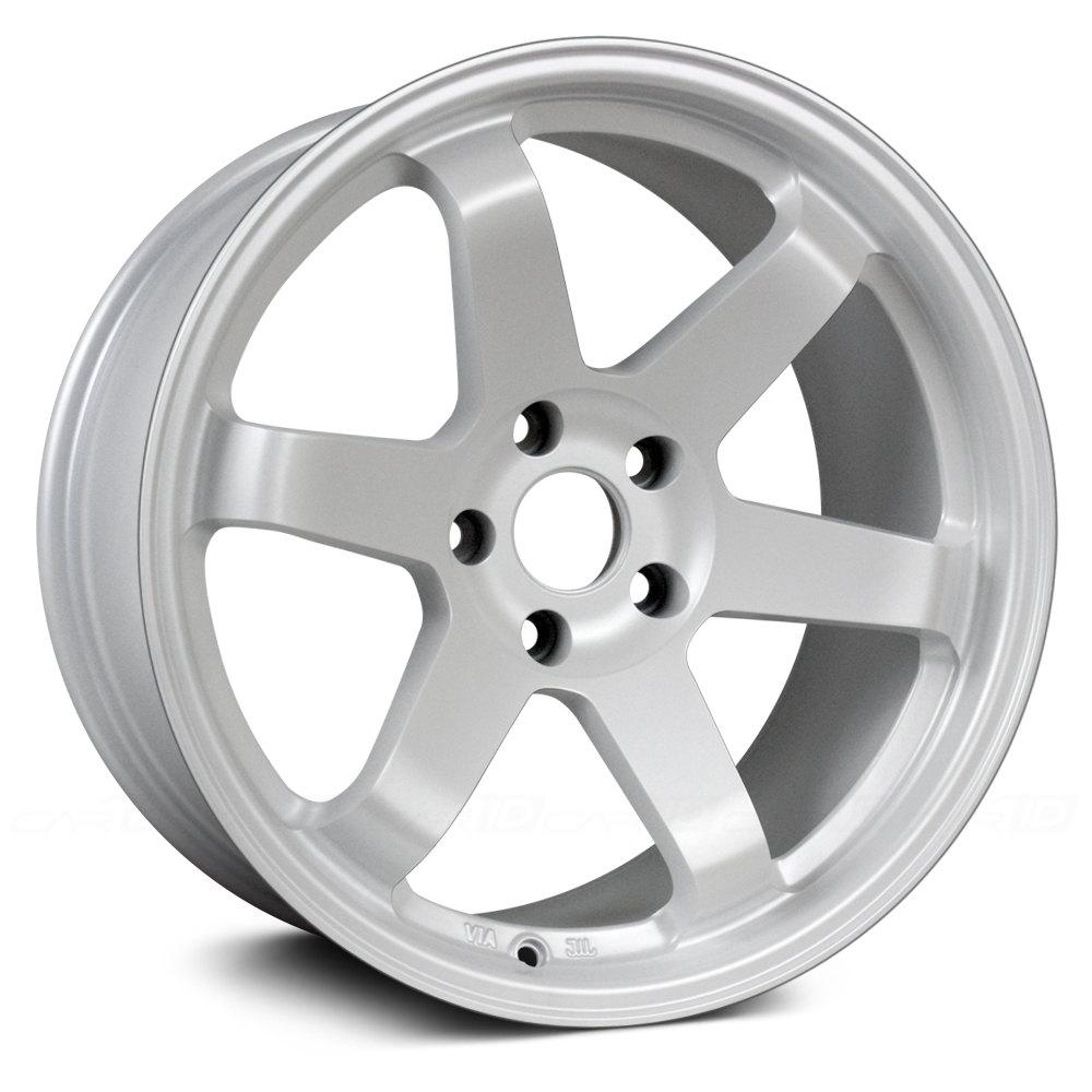 White Wheel Rims : Avid av wheels matte white rims