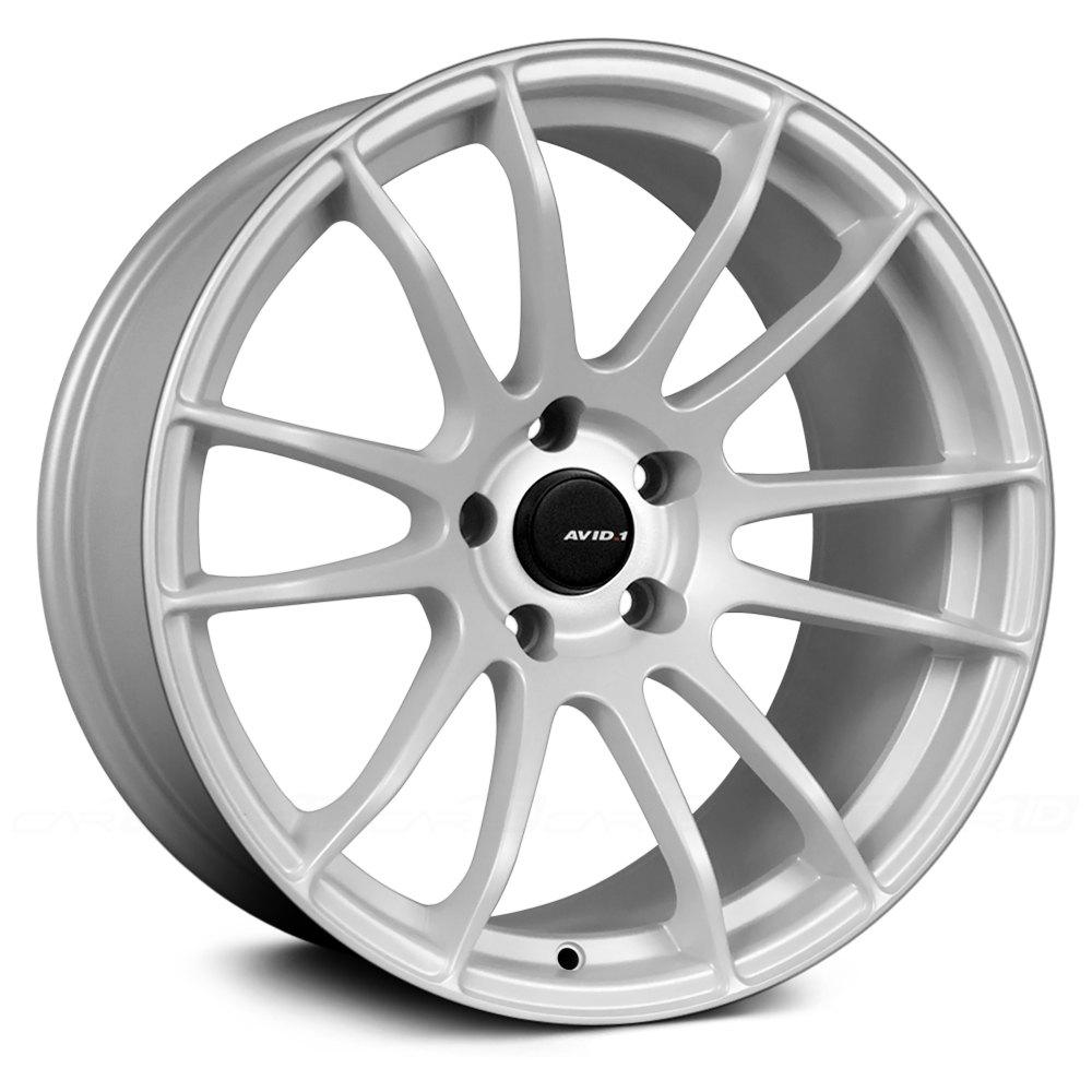 White Wheel Rims : Avid av wheels white rims