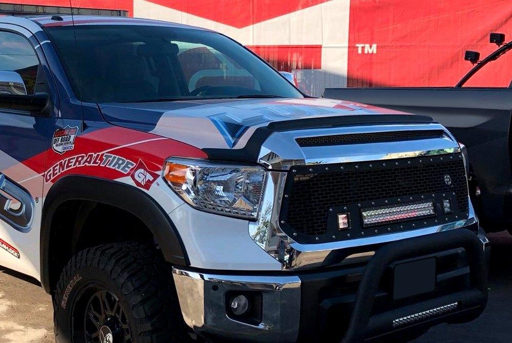 Auto Ventshade 436079 Aeroskin II Hood Protector Textured Black Fits Tacoma