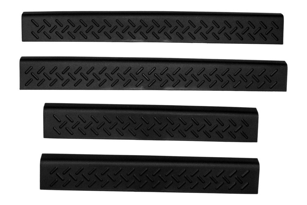 Avs 174 91810 Stepshields Black Door Sills