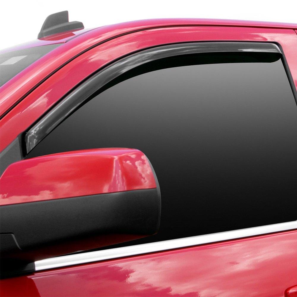 Avs 174 Toyota Tacoma 2017 In Channel Ventvisor Smoke