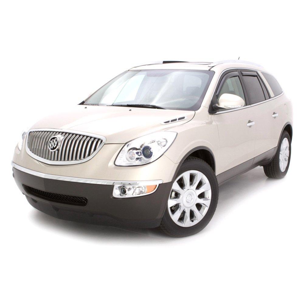 For Buick Enclave 08-17 Window Deflectors In-Channel Ventvisor Smoke Front & 725478125030 | eBay