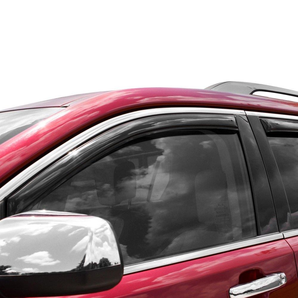 For Toyota Rav4 13 18 In Channel Ventvisor Smoke Front