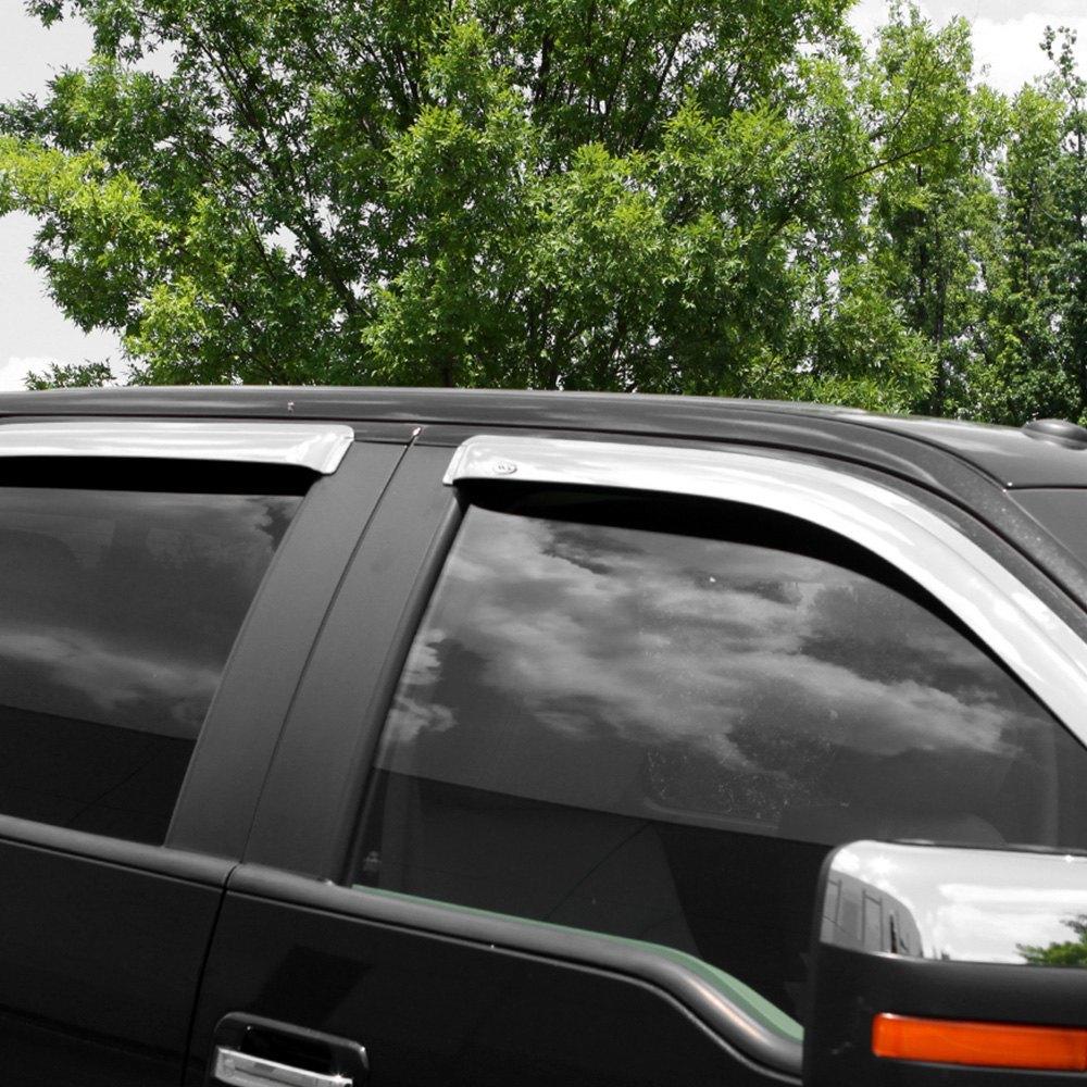 Avs 174 Dodge Journey 2009 Tape On Standard Ventvisor