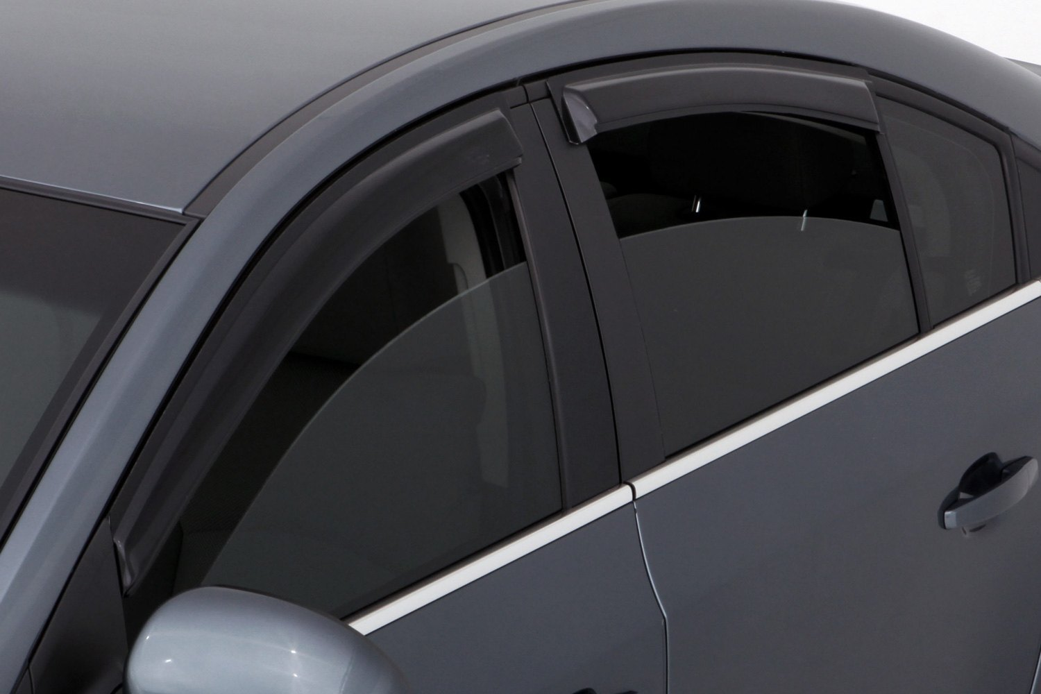Chevy Parts Dealer >> AVS® - Chevy Cruze 2011 Tape-On Standard Ventvisor™ Front and Rear Window Deflectors