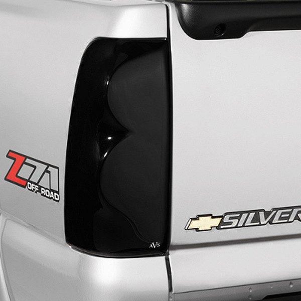 Avs 33555 Tail Shades Series Tail Light Covers Smoke Ebay