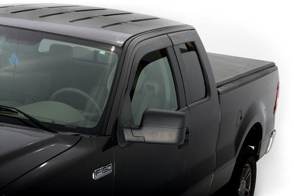 Avs Vent Shades >> AVS® - Ford F-150 2011-2014 Tape-On Window Deflectors