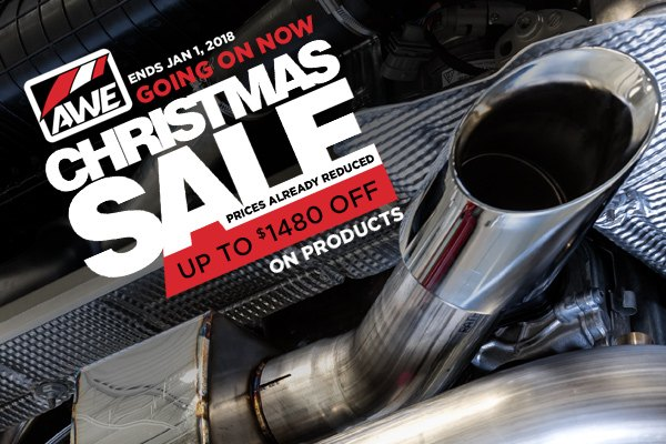 Holiday discount on AWE Tuning Exhausts for Mercedes at
