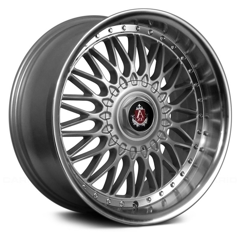 axe ex10 wheels silver with polished lip rims. Black Bedroom Furniture Sets. Home Design Ideas