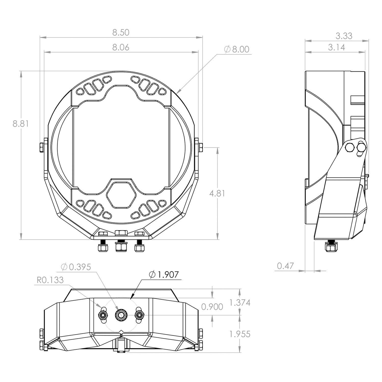 baja designs® 35 0013 lp9 sport™ 8\