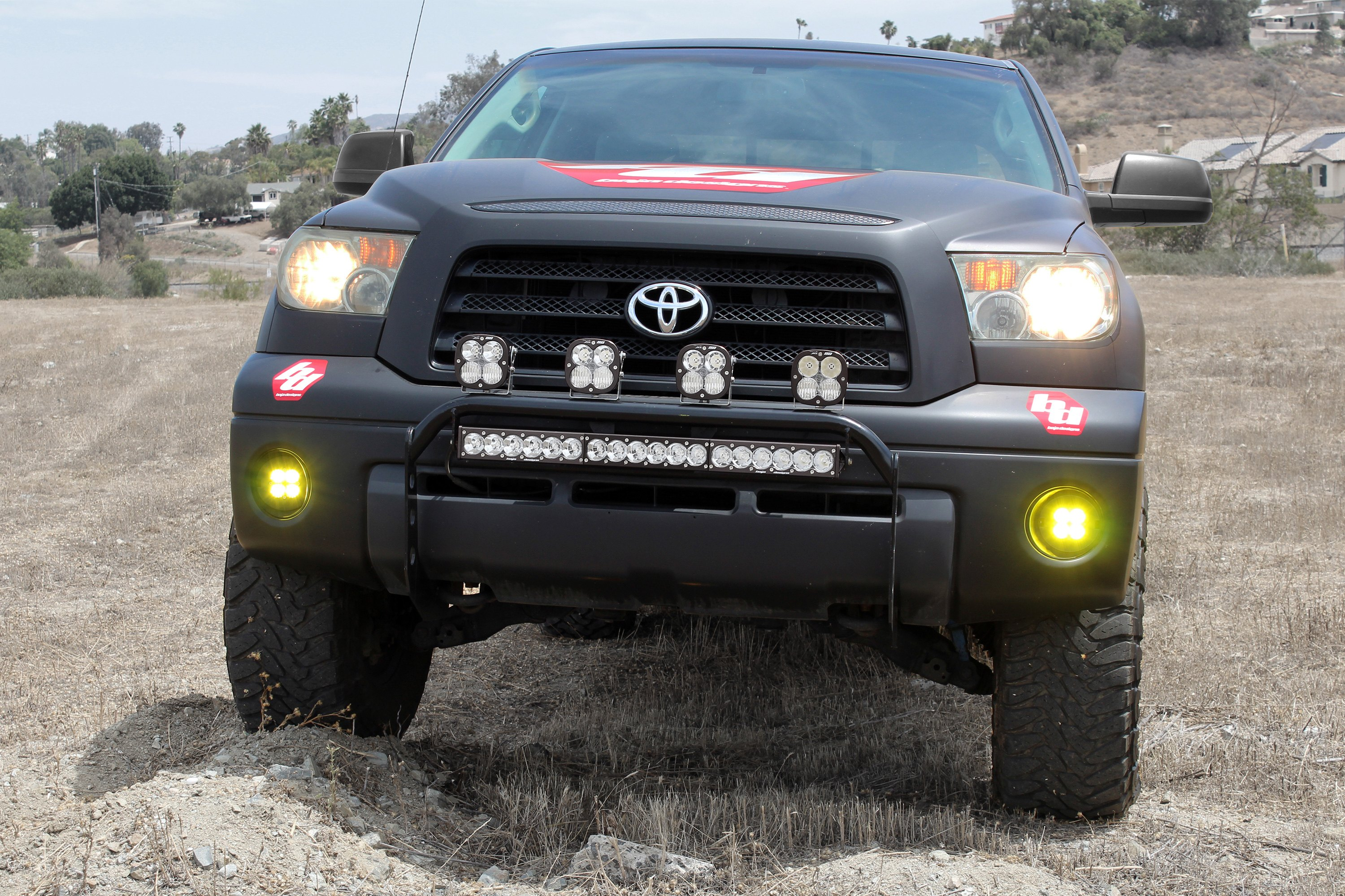 Baja Designs 44 7557 Grille Mounted Onx6 High Power 10 101w Wiring Harness Installed Led Light Bar
