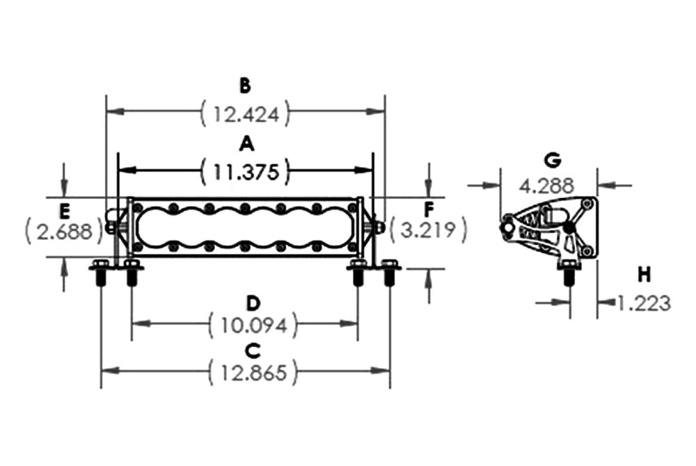 Baja Designs® 45-1003 - OnX6™ 10
