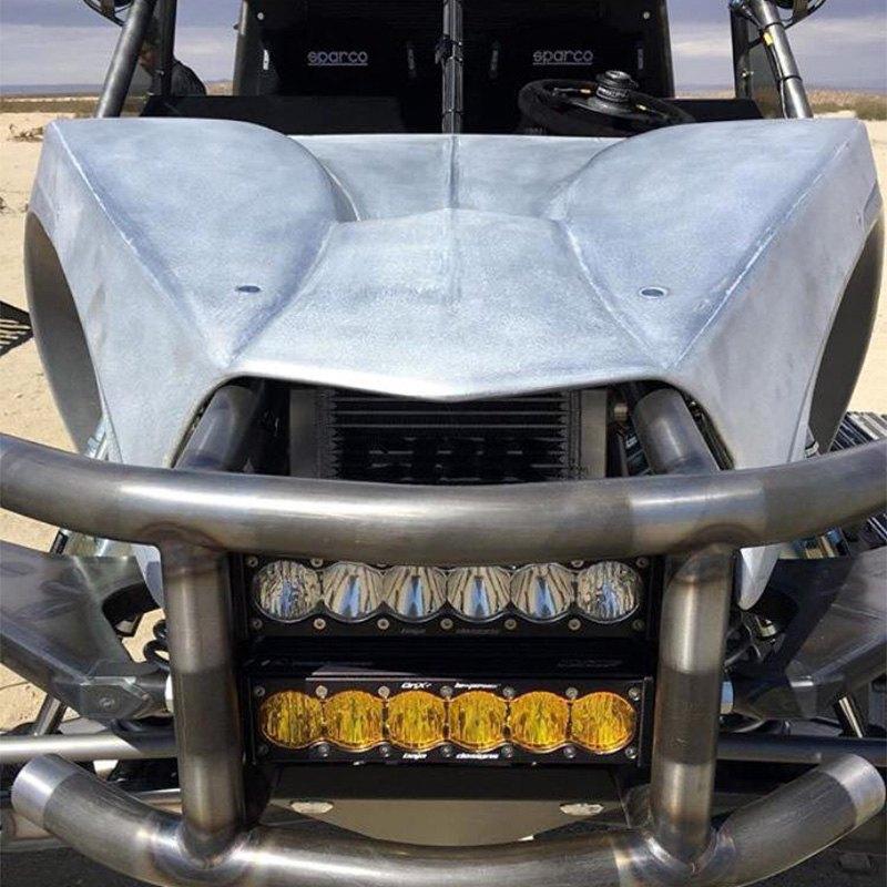 Baja designs 52 5003 onx6 arc 50 315w curved drivingcombo beam installed baja designs onx6 arc curved led light bar aloadofball Images