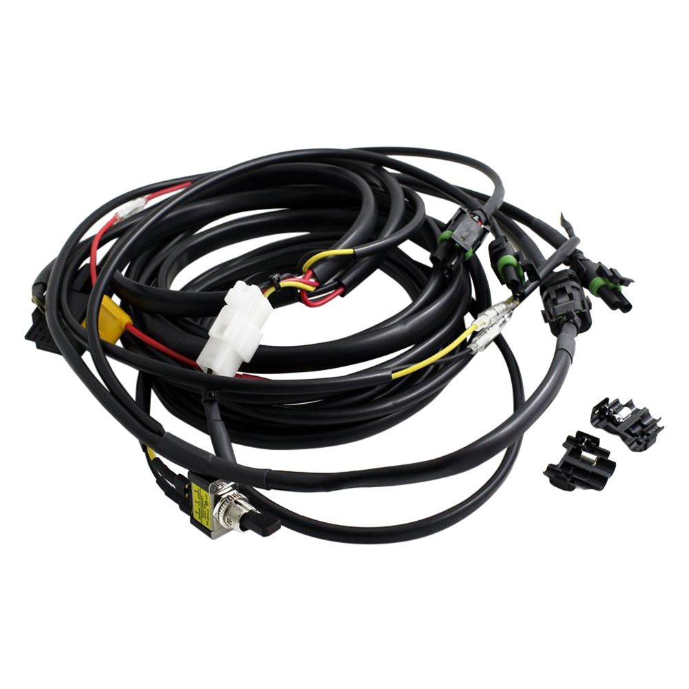Baja Designs 61 3600 Wiring Harness With High Beam Mode And Toggle Switch