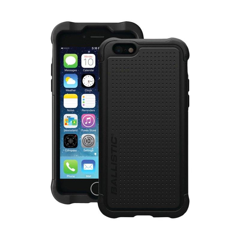 iPhone ballistic phone case iphone 4 : Ballistic Casesu00ae TJ1415-A06C - Black Tough Jacket Case for iPhone 6 4 ...