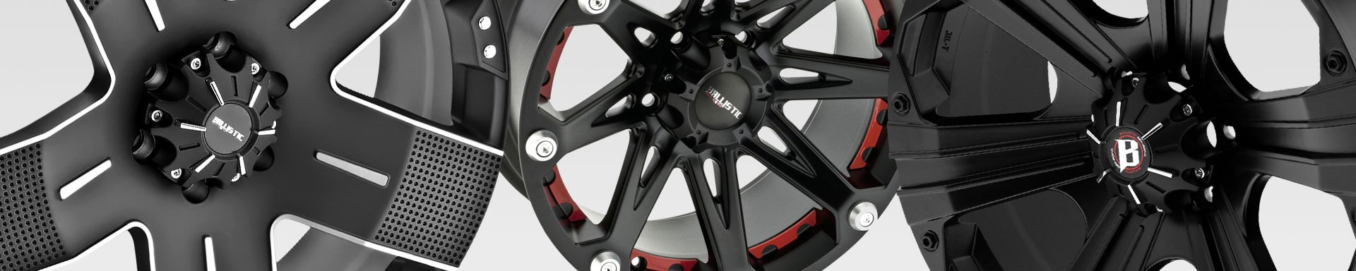 Universal BALLISTIC OFF-ROAD CUSTOM WHEELS