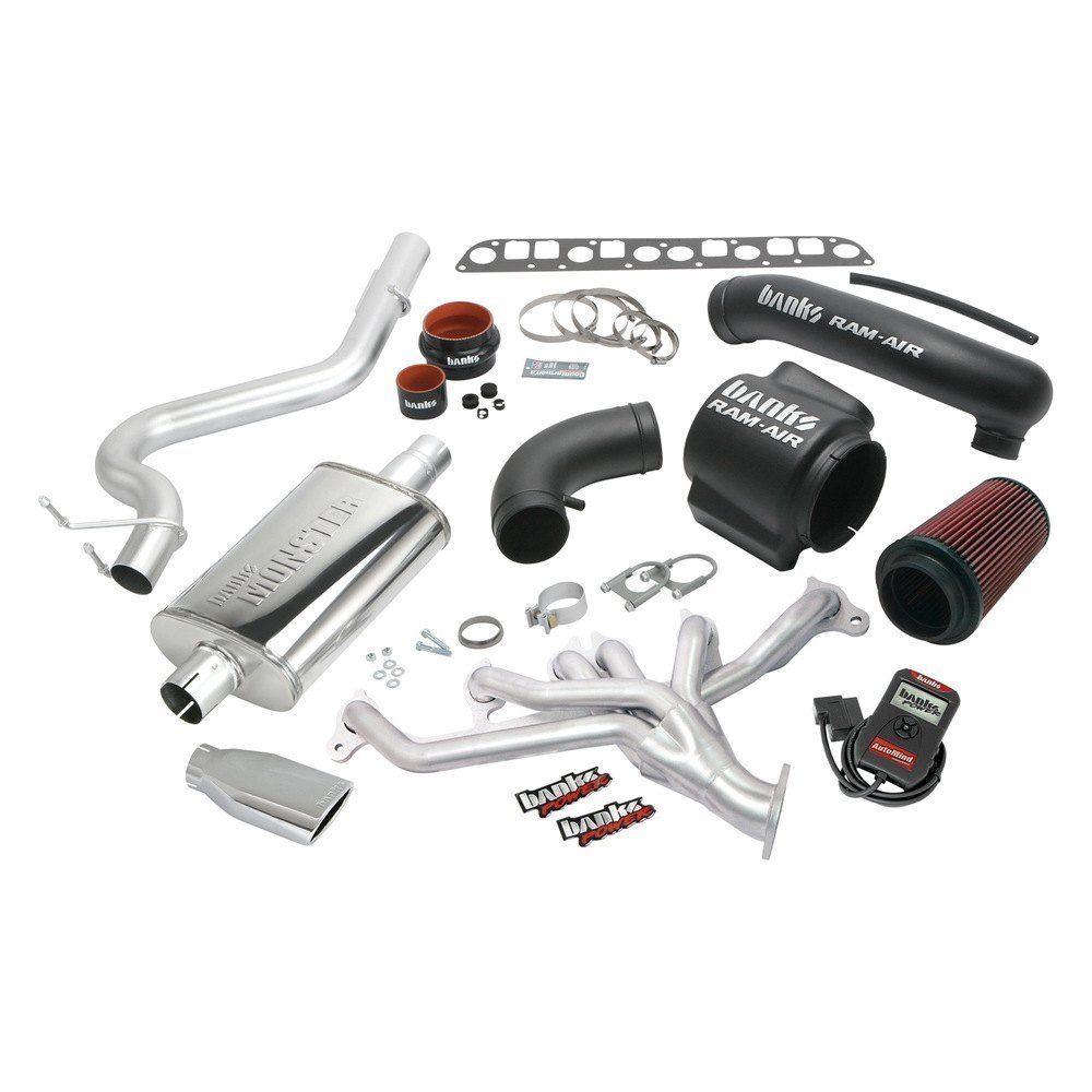 Banks® - PowerPack™ Stainless Steel Full Exhaust System with Single Rear  Exit