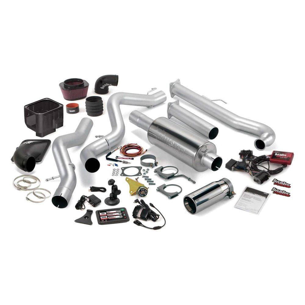 Banks® - Six-Gun™ Stainless Steel Exhaust System with Dual Side Exit