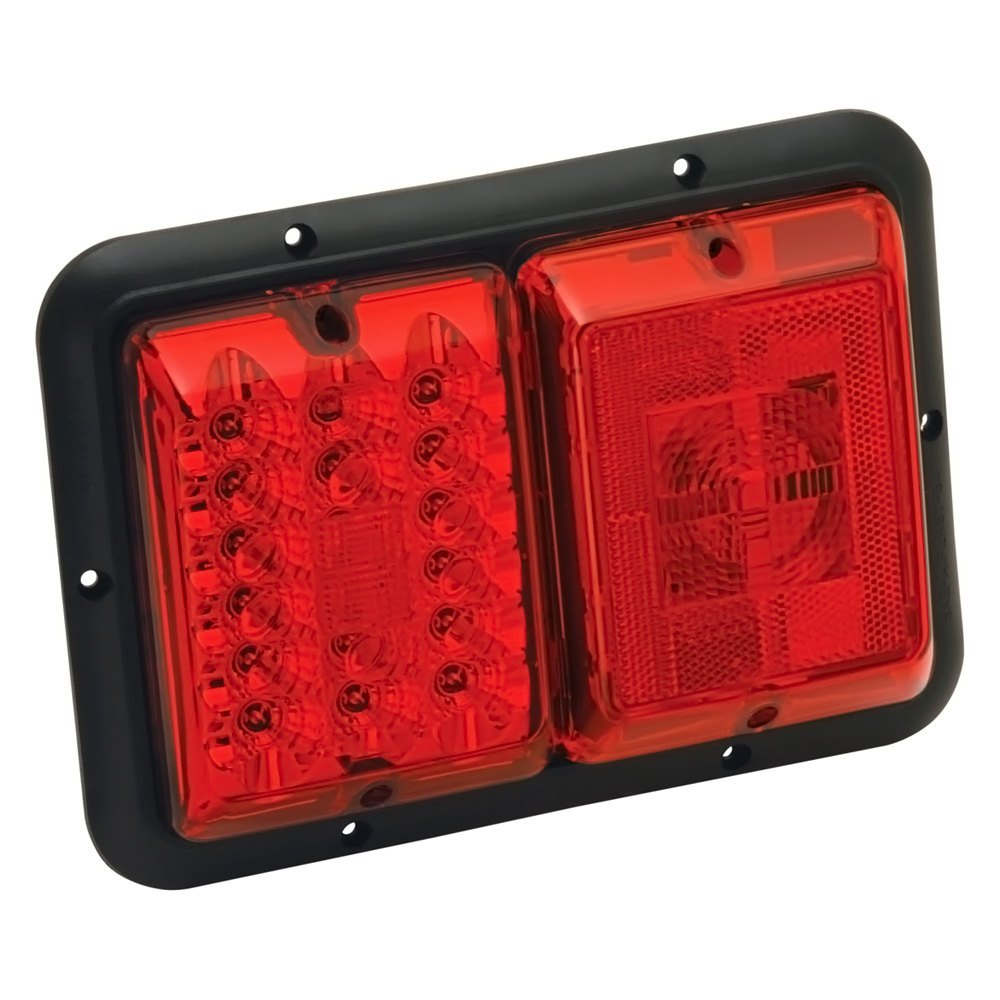 Bargman U00ae 47-84-529   85 Series Red Led Double Tail