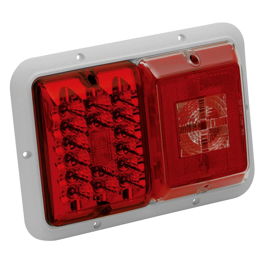Bargman U00ae 47-84-540   85 Series Red Led Double Tail
