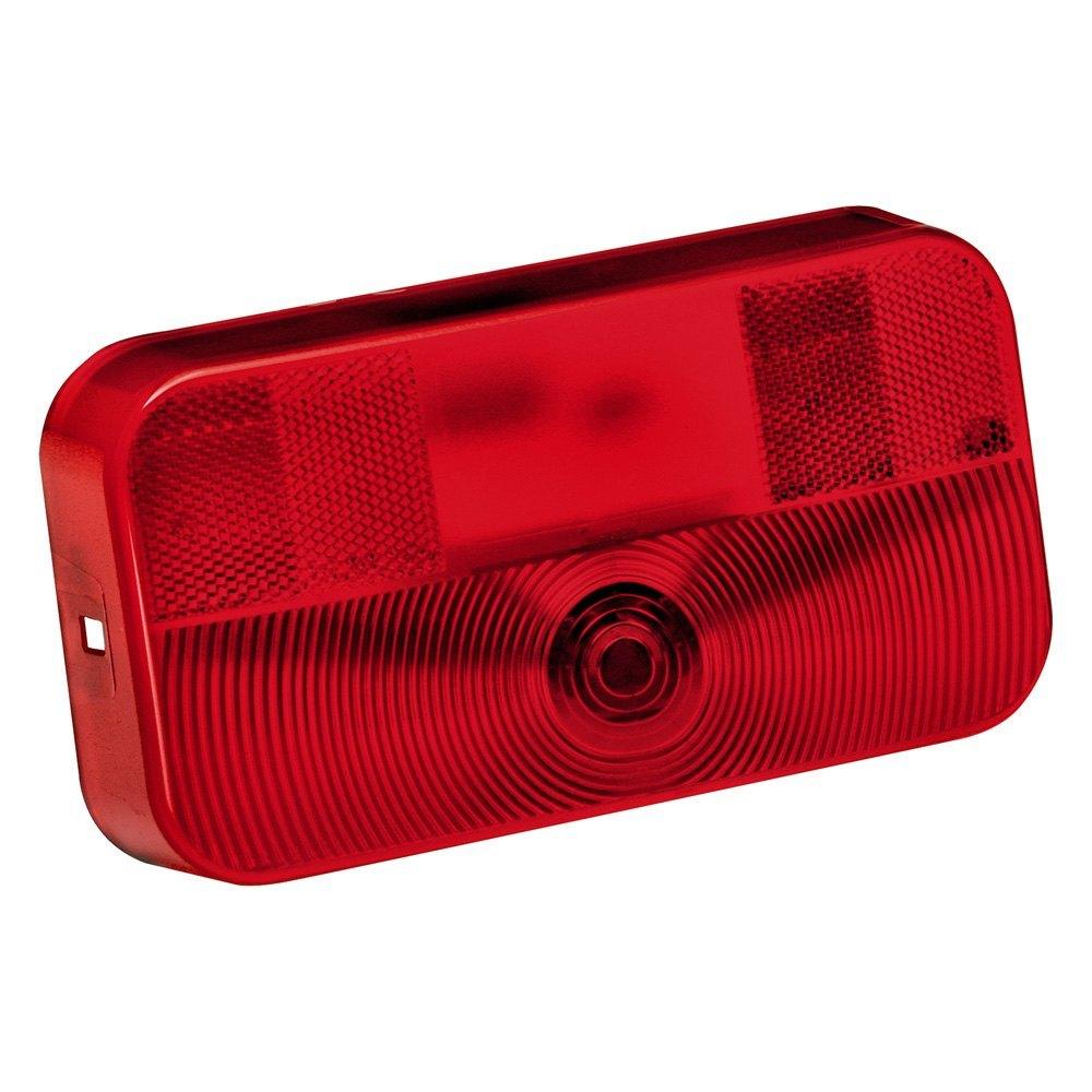 Trailer Tail Light Lens : Bargman red tail light lens ebay